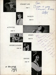 Page 7, 1962 Edition, Mount Lebanon High School - Lebanon Log Yearbook (Pittsburgh, PA) online yearbook collection