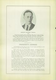 Page 12, 1924 Edition, Titusville High School - Optimist Yearbook (Titusville, PA) online yearbook collection