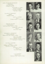 Page 16, 1951 Edition, Titusville High School - Optimist Yearbook (Titusville, PA) online yearbook collection