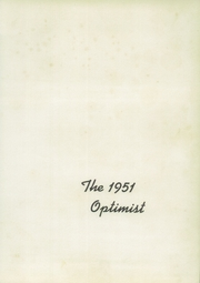 Page 5, 1951 Edition, Titusville High School - Optimist Yearbook (Titusville, PA) online yearbook collection