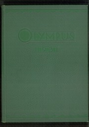 Trinity High School - Olympus Yearbook (Washington, PA) online yearbook collection, 1931 Edition, Page 1