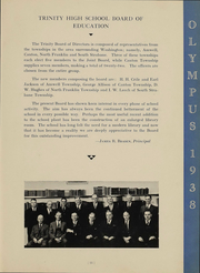 Page 13, 1938 Edition, Trinity High School - Olympus Yearbook (Washington, PA) online yearbook collection