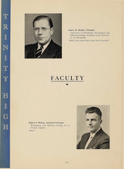 Page 14, 1938 Edition, Trinity High School - Olympus Yearbook (Washington, PA) online yearbook collection