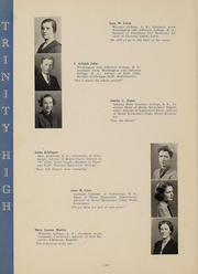 Page 16, 1938 Edition, Trinity High School - Olympus Yearbook (Washington, PA) online yearbook collection
