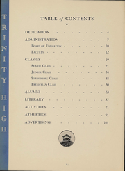 Page 4, 1938 Edition, Trinity High School - Olympus Yearbook (Washington, PA) online yearbook collection