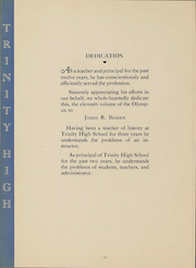 Page 6, 1938 Edition, Trinity High School - Olympus Yearbook (Washington, PA) online yearbook collection
