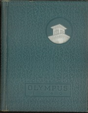 Trinity High School - Olympus Yearbook (Washington, PA) online yearbook collection, 1940 Edition, Page 1