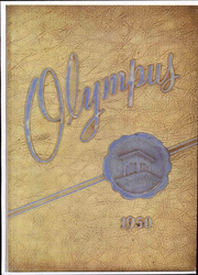 1950 Edition, Trinity High School - Olympus Yearbook (Washington, PA)