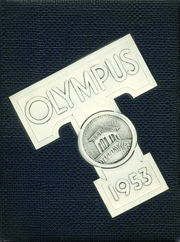 1953 Edition, Trinity High School - Olympus Yearbook (Washington, PA)