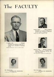 Page 16, 1957 Edition, Trinity High School - Olympus Yearbook (Washington, PA) online yearbook collection
