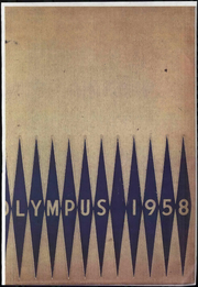 1958 Edition, Trinity High School - Olympus Yearbook (Washington, PA)