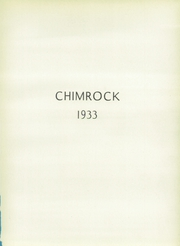 Page 5, 1933 Edition, Hollidaysburg High School - Chimrock Yearbook (Hollidaysburg, PA) online yearbook collection