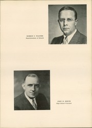 Page 11, 1935 Edition, Hollidaysburg High School - Chimrock Yearbook (Hollidaysburg, PA) online yearbook collection