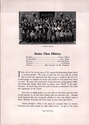 Page 38, 1936 Edition, Hollidaysburg High School - Chimrock Yearbook (Hollidaysburg, PA) online yearbook collection