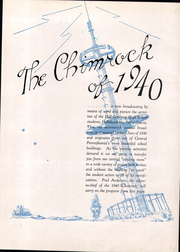 Page 14, 1940 Edition, Hollidaysburg High School - Chimrock Yearbook (Hollidaysburg, PA) online yearbook collection