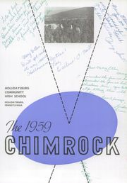 Page 5, 1959 Edition, Hollidaysburg High School - Chimrock Yearbook (Hollidaysburg, PA) online yearbook collection