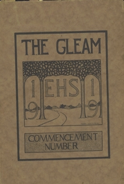 Ensley High School - Jacket Yearbook (Birmingham, AL) online yearbook collection, 1919 Edition, Page 1