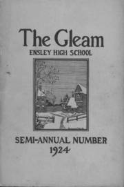 Ensley High School - Jacket Yearbook (Birmingham, AL) online yearbook collection, 1924 Edition, Page 1