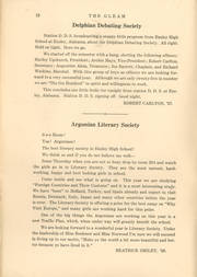 Page 14, 1925 Edition, Ensley High School - Jacket Yearbook (Birmingham, AL) online yearbook collection
