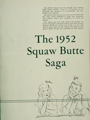 Page 7, 1952 Edition, Emmett High School - Squaw Butte Saga Yearbook (Emmett, ID) online yearbook collection