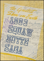 Page 7, 1953 Edition, Emmett High School - Squaw Butte Saga Yearbook (Emmett, ID) online yearbook collection