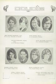 Page 16, 1927 Edition, Twin Falls High School - Coyote Yearbook (Twin Falls, ID) online yearbook collection