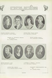 Page 17, 1927 Edition, Twin Falls High School - Coyote Yearbook (Twin Falls, ID) online yearbook collection