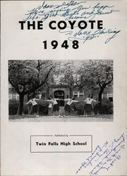 Page 5, 1948 Edition, Twin Falls High School - Coyote Yearbook (Twin Falls, ID) online yearbook collection