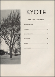 Page 15, 1954 Edition, Billings Senior High School - Kyote Yearbook (Billings, MT) online yearbook collection