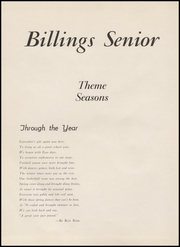 Page 8, 1956 Edition, Billings Senior High School - Kyote Yearbook (Billings, MT) online yearbook collection