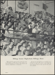 Page 10, 1960 Edition, Billings Senior High School - Kyote Yearbook (Billings, MT) online yearbook collection