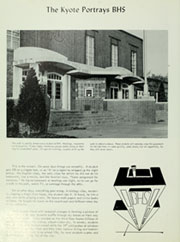 Page 8, 1963 Edition, Billings Senior High School - Kyote Yearbook (Billings, MT) online yearbook collection