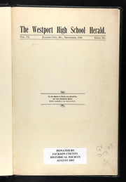 Page 5, 1906 Edition, Westport High School - Herald Yearbook (Kansas City, MO) online yearbook collection