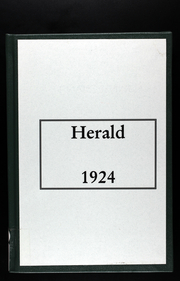 Page 1, 1924 Edition, Westport High School - Herald Yearbook (Kansas City, MO) online yearbook collection
