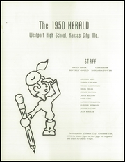 Page 6, 1950 Edition, Westport High School - Herald Yearbook (Kansas City, MO) online yearbook collection