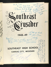 Page 5, 1949 Edition, Southeast High School - Crusader Yearbook (Kansas City, MO) online yearbook collection