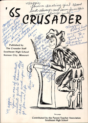 Page 5, 1965 Edition, Southeast High School - Crusader Yearbook (Kansas City, MO) online yearbook collection