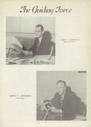 Page 9, 1954 Edition, Hancock Place High School - Momento Yearbook (St Louis, MO) online yearbook collection