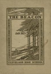 Page 1, 1923 Edition, Cleveland High School - Beacon Yearbook (St Louis, MO) online yearbook collection