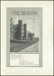 Page 5, 1923 Edition, Cleveland High School - Beacon Yearbook (St Louis, MO) online yearbook collection