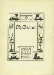 Page 7, 1929 Edition, Cleveland High School - Beacon Yearbook (St Louis, MO) online yearbook collection