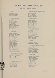 Page 16, 1935 Edition, Cleveland High School - Beacon Yearbook (St Louis, MO) online yearbook collection