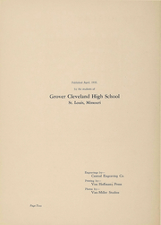 Page 3, 1935 Edition, Cleveland High School - Beacon Yearbook (St Louis, MO) online yearbook collection