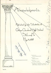 Page 5, 1937 Edition, Cleveland High School - Beacon Yearbook (St Louis, MO) online yearbook collection