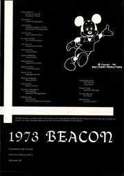 Page 5, 1973 Edition, Cleveland High School - Beacon Yearbook (St Louis, MO) online yearbook collection