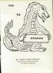 Page 5, 1956 Edition, St Marys High School - Green and White Yearbook (St Louis, MO) online yearbook collection