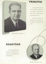 Page 9, 1956 Edition, St Marys High School - Green and White Yearbook (St Louis, MO) online yearbook collection