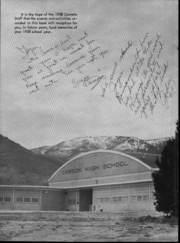 Page 4, 1958 Edition, Carson High School - Carneta Yearbook (Carson City, NV) online yearbook collection