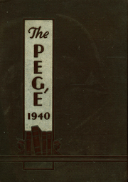 1940 Edition, West Nottingham Academy - Pege Yearbook (Colora, MD)