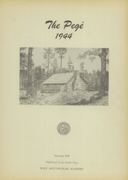 Page 3, 1944 Edition, West Nottingham Academy - Pege Yearbook (Colora, MD) online yearbook collection
